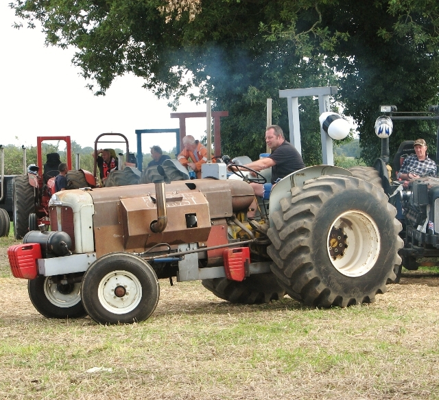 Tractor pulling competition - modified tractor
