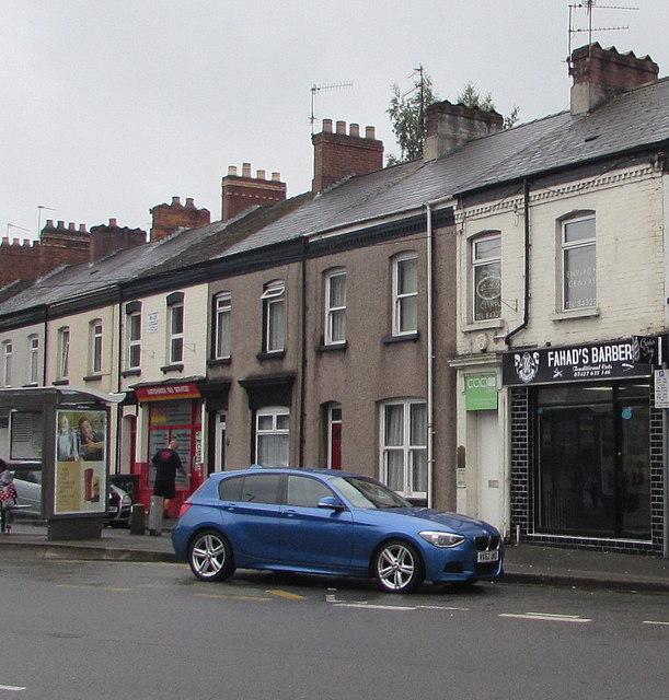 Fahad's Barber Shop, Livingstone Place, Newport