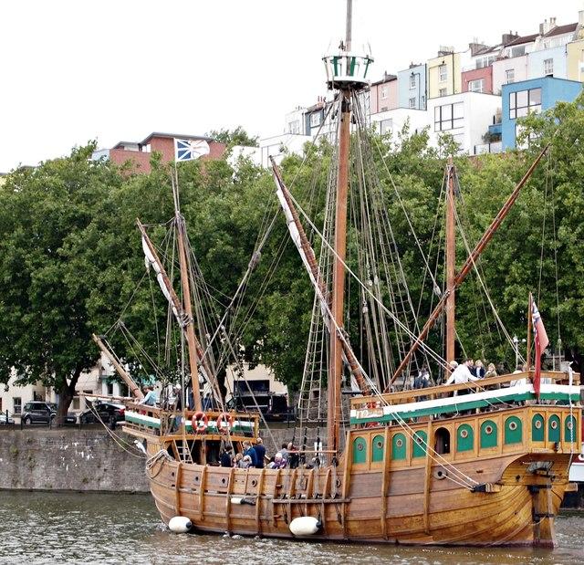 """""""The Matthew"""" replica, Bristol"""