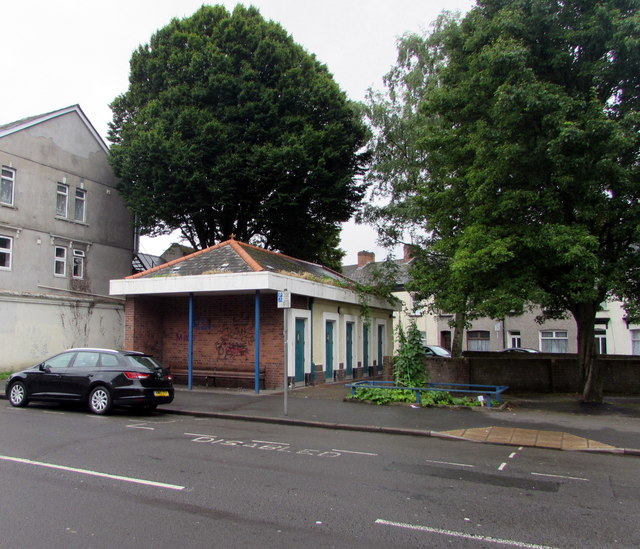 Maindee public toilets, Newport