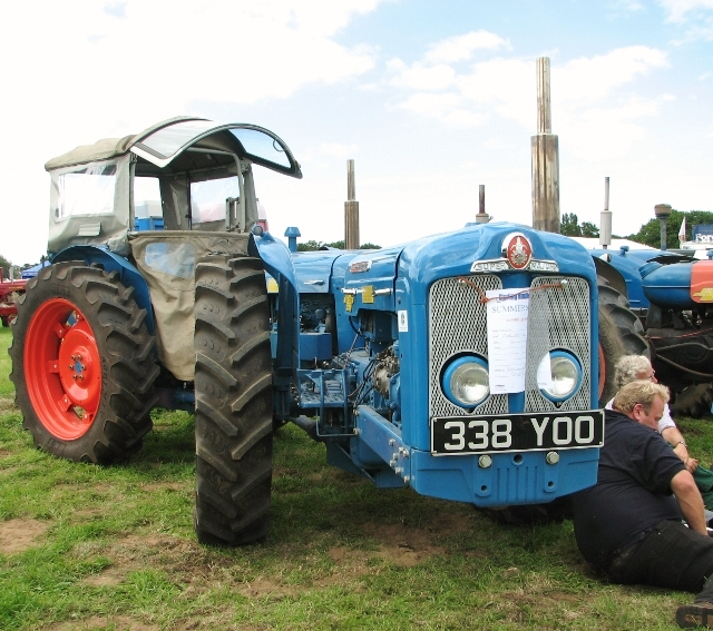 Early 1960s Doe Triple D tractor