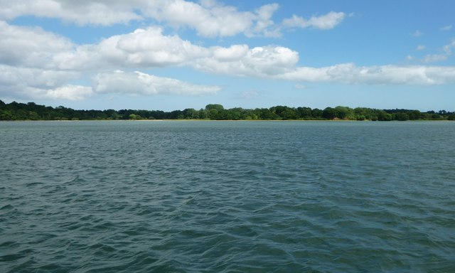 The River Orwell, looking towards Loompit Lake