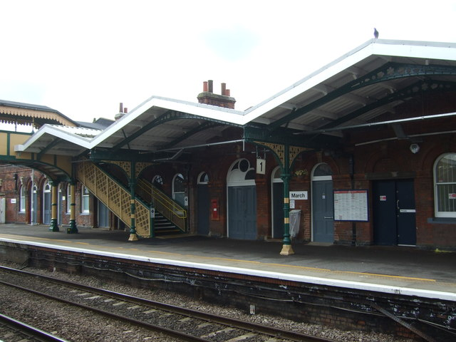 March Railway Station