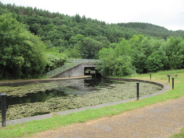 Canal Basin and Road Bridge