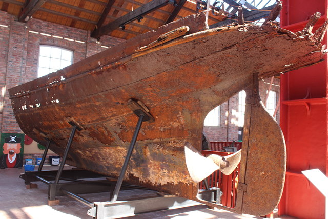 Remains of SS Rifle