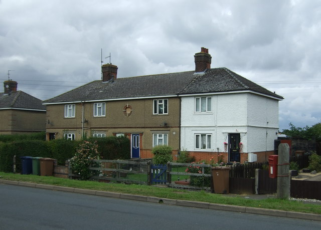 Houses on Wimblington Road, March