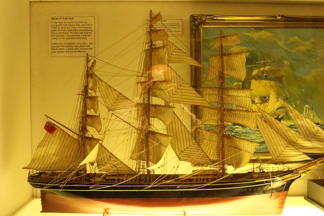 Model of Cutty Sark