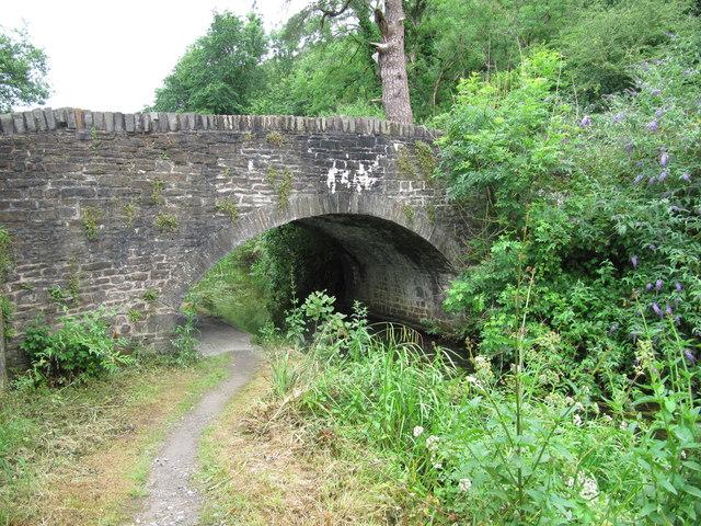 Bridge across the Neath Canal