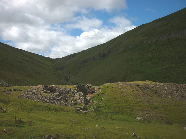 Lead mining remains below Lover Gill