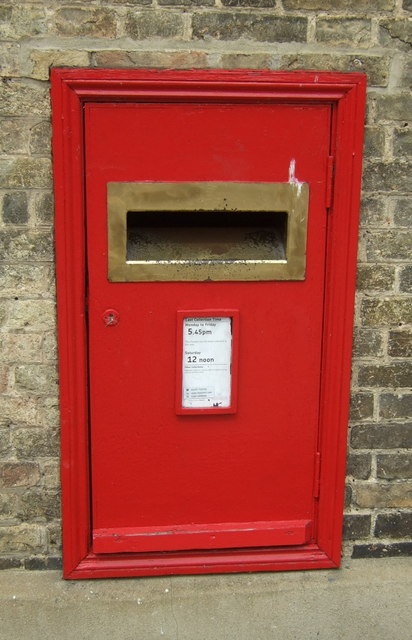 Postbox, Royal Mail Sorting Office, Chatteris