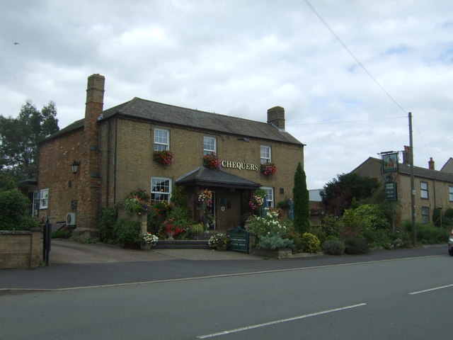 The Chequers public house, Sutton-in-the-Isle