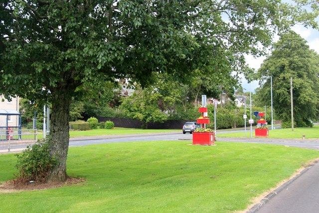 Junction on Loudoun Road, Newmilns