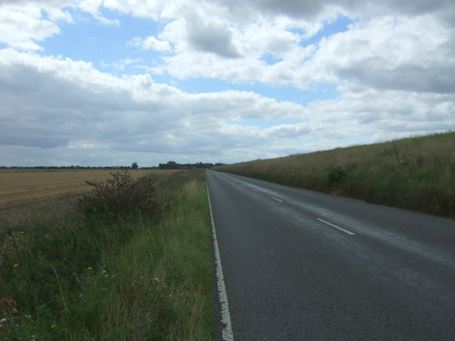 B1381 towards Earith