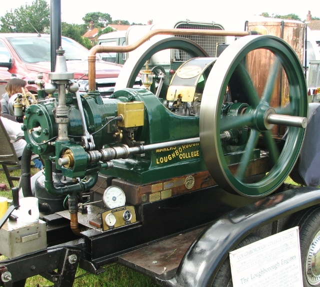 1930s Loughborough College stationary engine