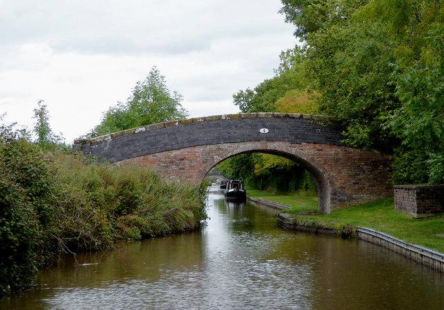 Lee's Bridge north of Burland in Cheshire