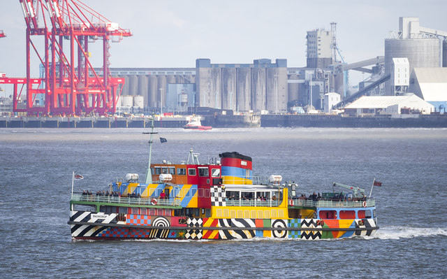 The 'Snowdrop' on the River Mersey