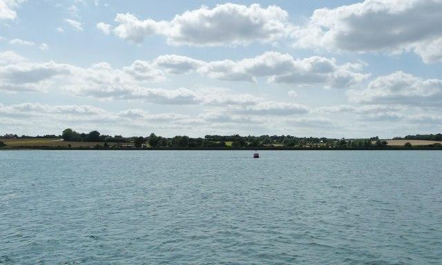 Orwell navigation buoy, River Orwell