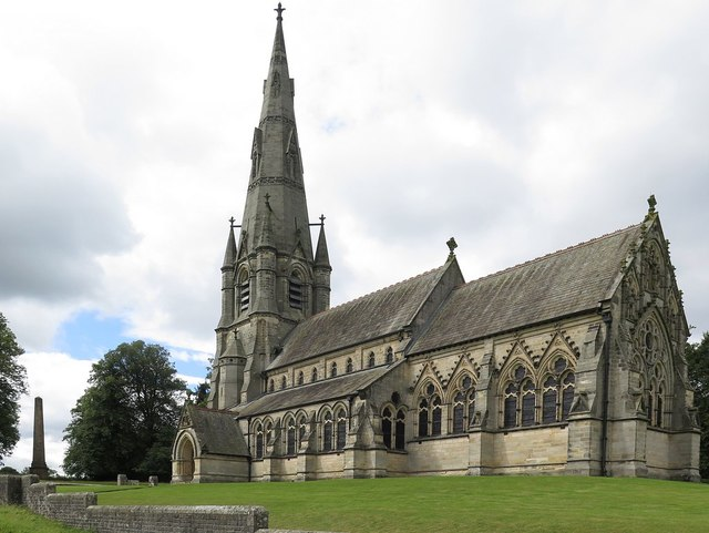 Church of St Mary, Studley Royal