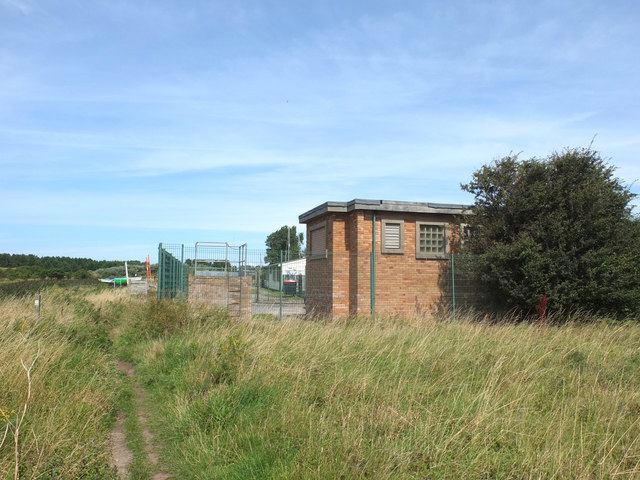 Pumping Station near the River Alt at Hightown