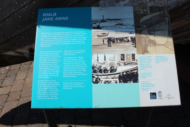 History of the RNLB Jane Anne