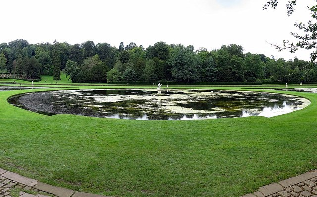 Moon Pond, Studley Royal Water Garden