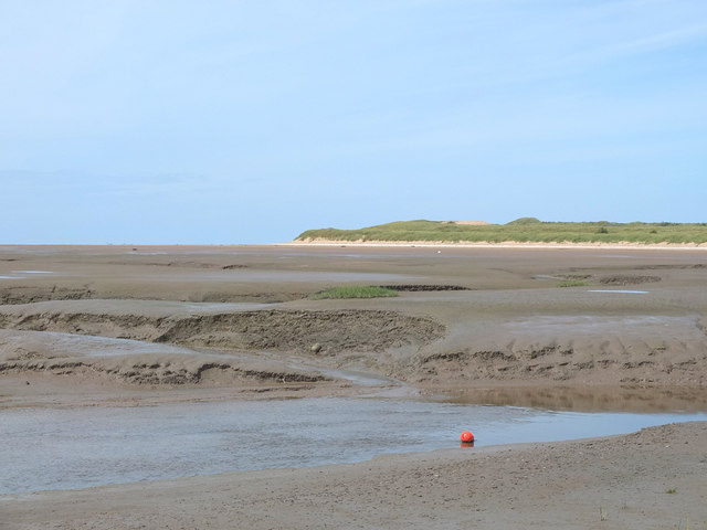 Across the mudflats to Formby Point