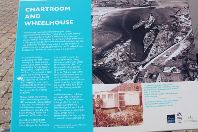 Information on the Chartroom and Wheelhouse