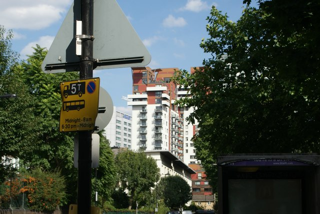 View of Phoenix Heights West from the Thames Path #2