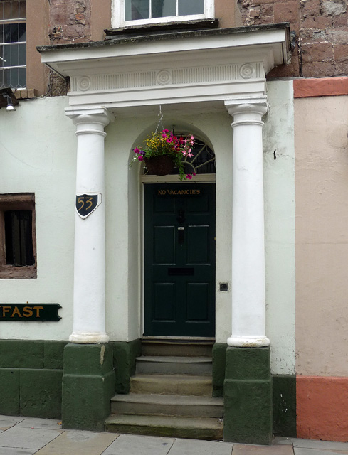 Detail of 53 High Street, Ross-on-Wye