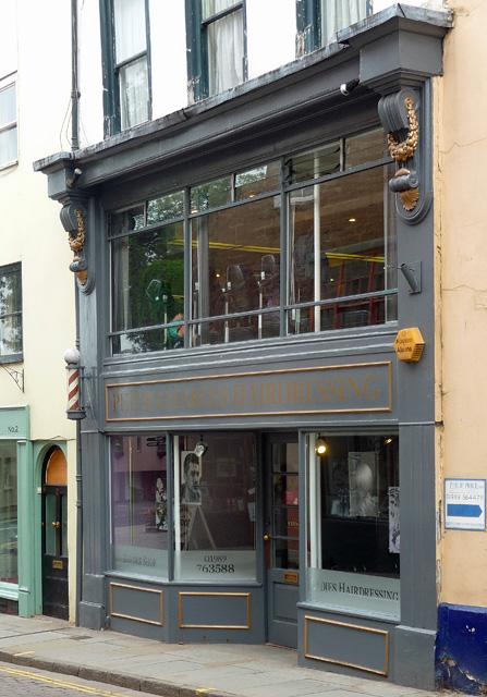Detail of 3 High Street, Ross-on-Wye