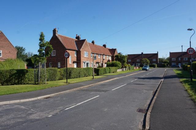 Crossfield Crescent, Fulford