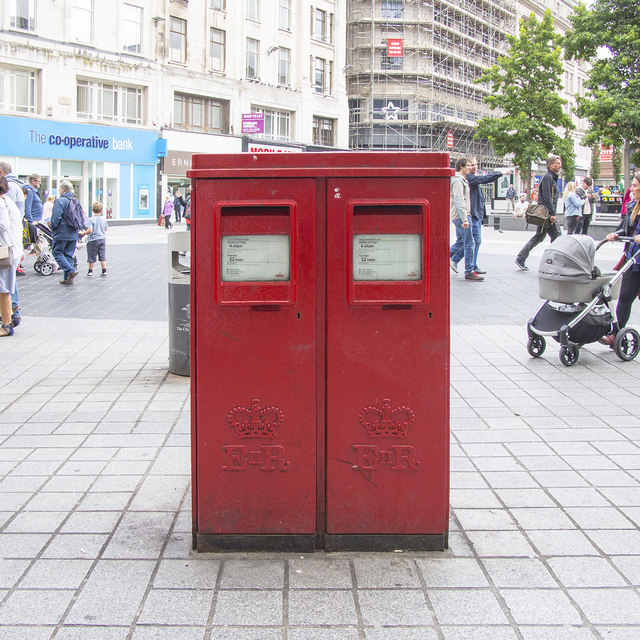 Postboxes, Liverpool