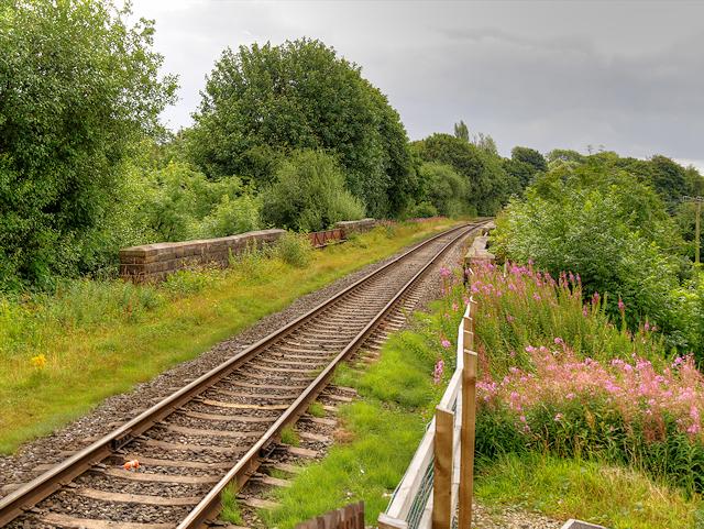 East Lancashire Railway at How Lane Bridge