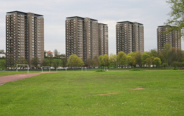Tower blocks, Kestrel Road