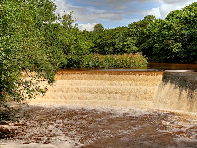 River Irwell, Burrs Weir