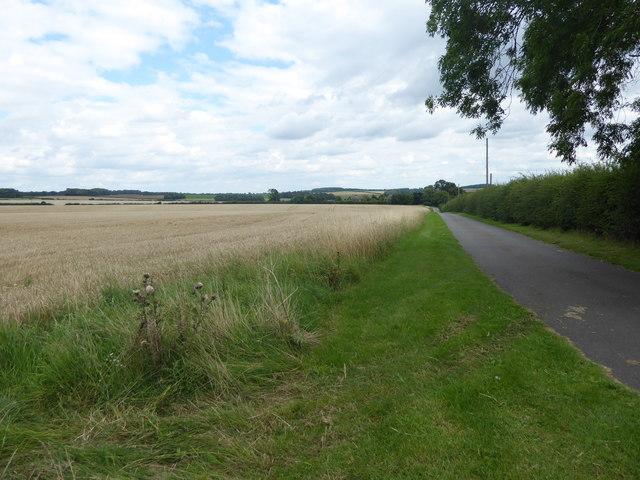 Road to Crowland Farm