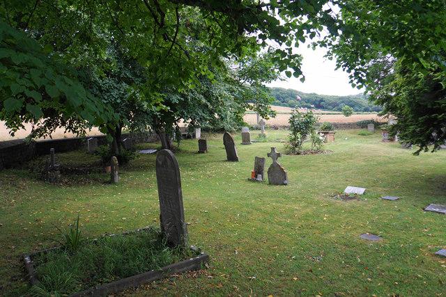 Churchyard of St Mary's, Kilve