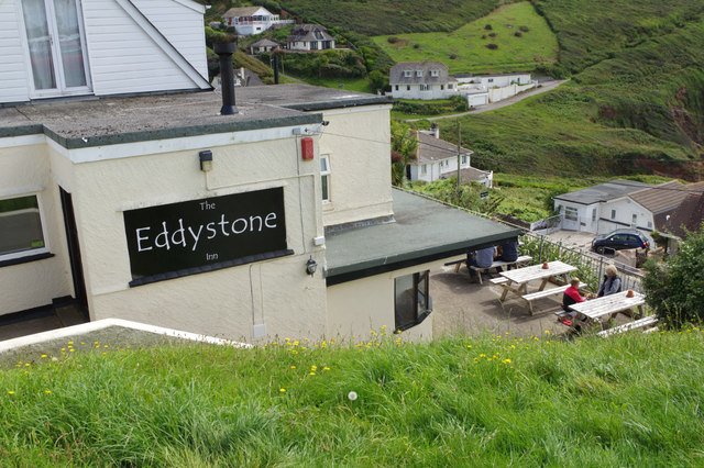 The Eddystone Inn, Heybrook Bay