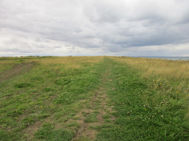 Cliff top path at Double Gates