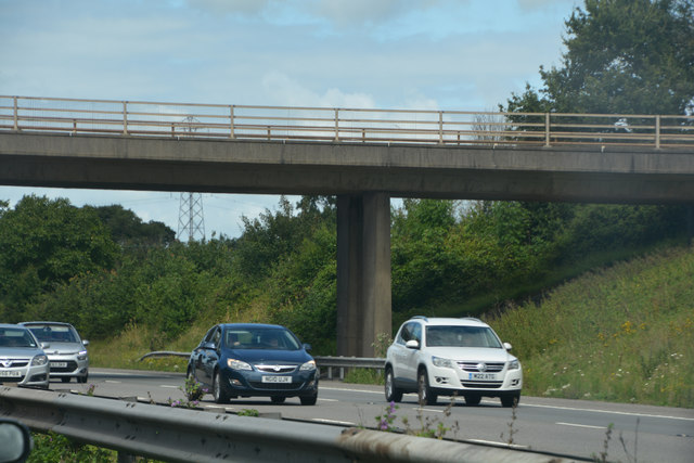 Sedgemoor : The M5 Motorway