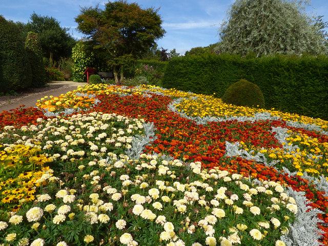 Flower display, Golden Acre Park