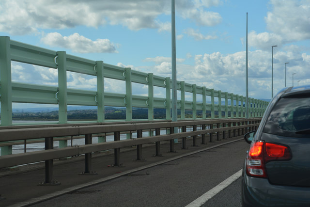 Monmouthshire : The M4 Motorway