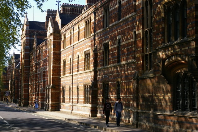 Keble College, street frontage
