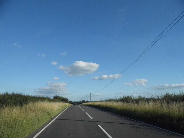 Bicester Road east of Oakley