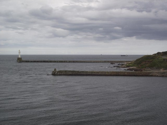 Old South Breakwater and new South Breakwater