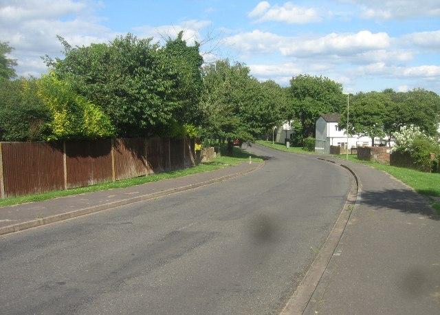 Entering Winklebury - Kenilworth Road