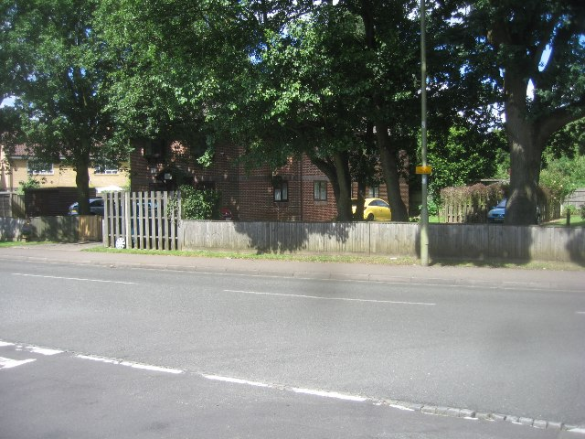 Housing along Cherrywood Road