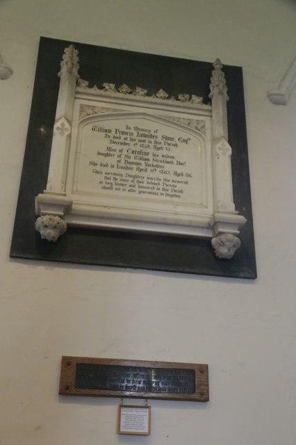 North Aisle Memorial