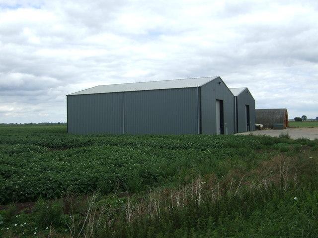 Farm buildings, Willow Hall Farm