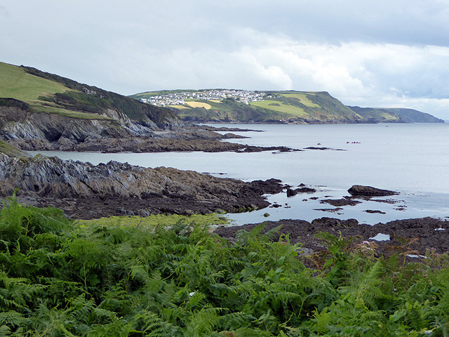 Polridmouth Cove and Southground Point